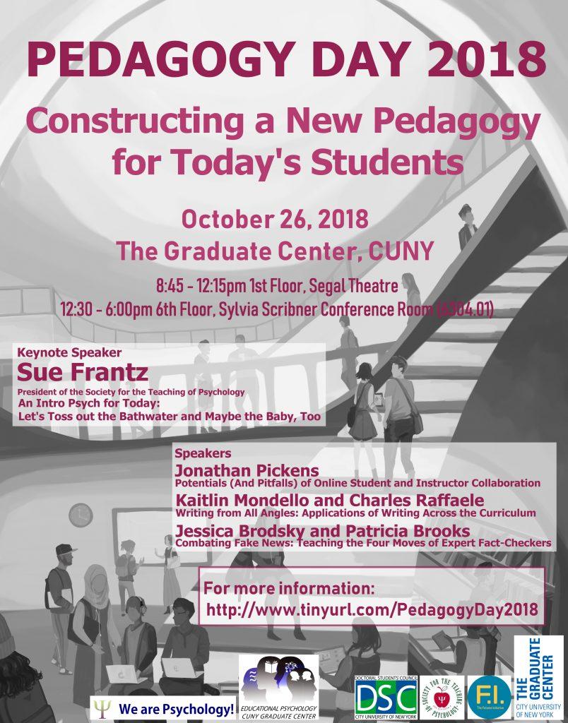 Pedagogy Day 2018 Flyer